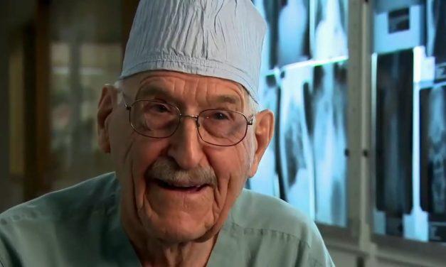 Chirurg tot zijn 96ste.
