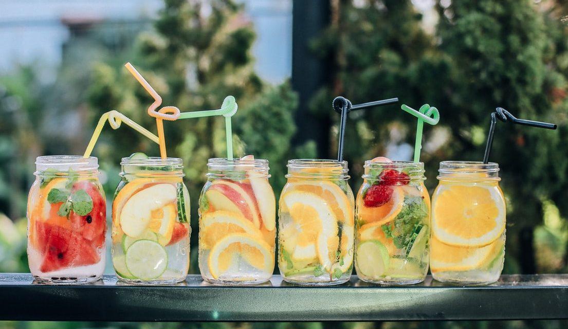 Verfrissende drinks